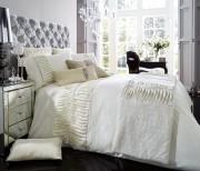 Luxury Bed Linen Duvet / Quilt Cover & Pillowcase Set- Alina Cream