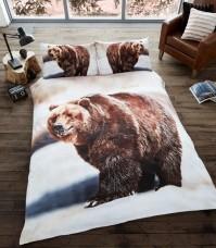 3D Duvet Cover Set- Bear