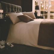 Bed in a Bag 5pc Bedding Duvet Quilt Cover Set, Diamante- Mink