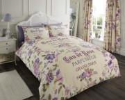 Luxury Bed Linen Duvet / Quilt Cover & Pillowcase Set-Iola Natural
