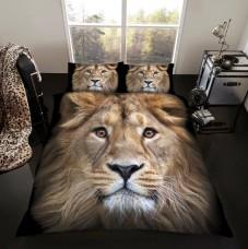 3D Duvet Cover Set- Lion