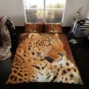 3D Duvet Cover Set- Leopard