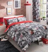 Duvet Cover with Pillow Case, Quilt Cover, Bedding Set-London