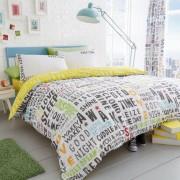 Duvet Cover with Pillow Case, Quilt Cover, Bedding Set- Lucas - Multi