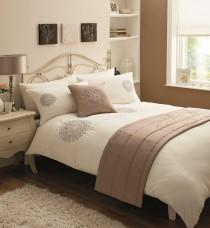 Bed in a Bag 5pc Bedding Duvet Quilt Cover Set, Paradise-Cream Mocha