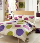 Duvet Cover with Pillow Case, Quilt Cover, Bedding Set-Passion Purple