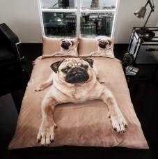 3D Duvet Cover Set- Pug