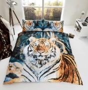 3D Duvet Cover Set- Tiger