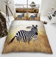 3D Duvet Cover Set- Zebra