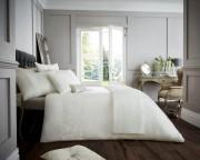 Luxury Bed Linen Duvet / Quilt Cover & Pillowcase Set- Venice Cream