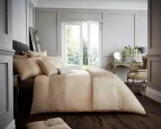 Luxury Bed Linen Duvet / Quilt Cover & Pillowcase Set- Venice Natural